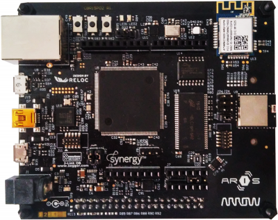 SmartEverything ARIS IoT-kártya (forrás: RS Components)