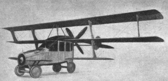 A Curtiss Autoplane (1917)