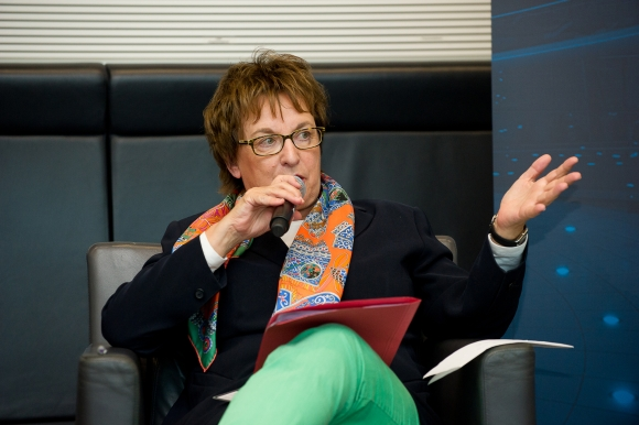 Brigitte Zypries szövetségi gazdasági és energetikai miniszter (fotó: Andreas Amann)