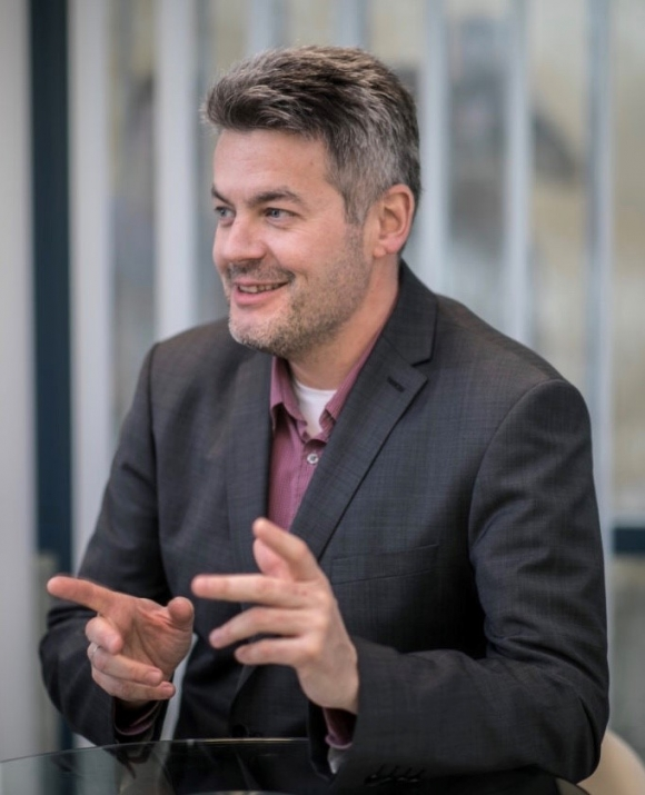 Benedek Péter, a Blockchain Compentence Center CEO-ja